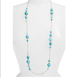 Kate Spade Turquoise Bead Necklace NWOT